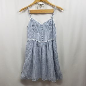 Abercrombie & Fitch Sleeveless Fit & Flare Dress S